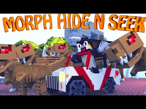 Minecraft Mods   MORPH HIDE AND SEEK - The Modded Games ep 7! (Morph Mod)