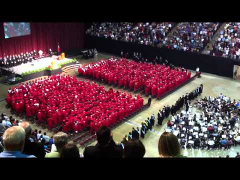 Tomball High School Graduation