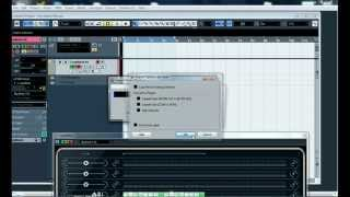 How to export audio from LoopMash in Cubase