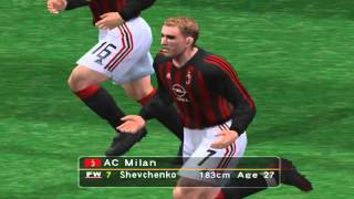 Pro Evolution Soccer 3 - 2003 - A.C. Milan  VS Juventus F.C. (PC)