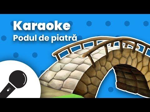 PODUL DE PIATRA S-A DARAMAT: Negativ Karaoke + Versuri  Planeta Vesela – Cantece pentru copii in limba romana