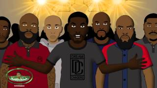 Drake vs Meek Mill - Rap Battle (LT Animated Cartoon)