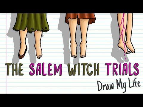 THE SALEM WITCH TRIALS | Draw My Life