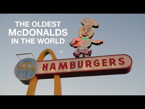 The Oldest McDonald's in the World | Downey, CA