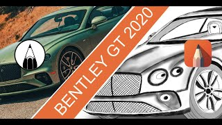 BENTLEY GT 2020 - SKETCHBOOK - AUTODESK