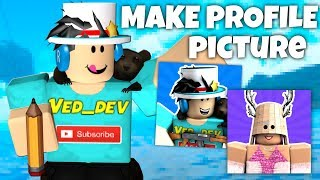How To Create A FREE Roblox Profile Picture!