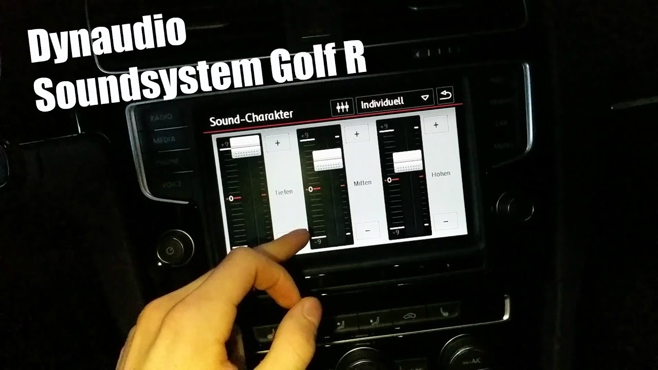 2015 vw golf 7 r dynaudio soundsystem fullhd 60fps. Black Bedroom Furniture Sets. Home Design Ideas
