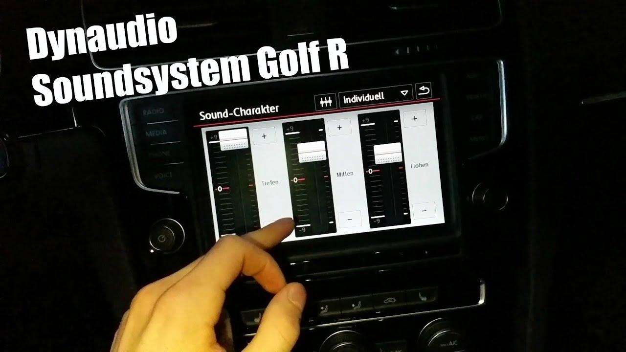 2015 vw golf 7 r dynaudio soundsystem fullhd 60fps. Black Bedroom Furniture Sets. Home Design Ideas
