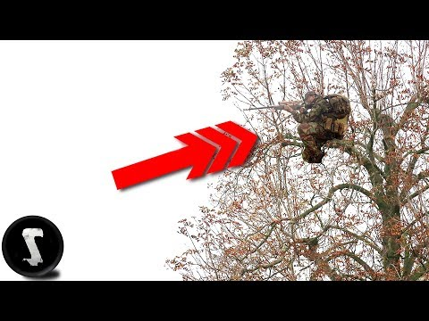 Sniper Climbs Tree and Destroys EVERYONE. (45 Feet / 14 Meter High)