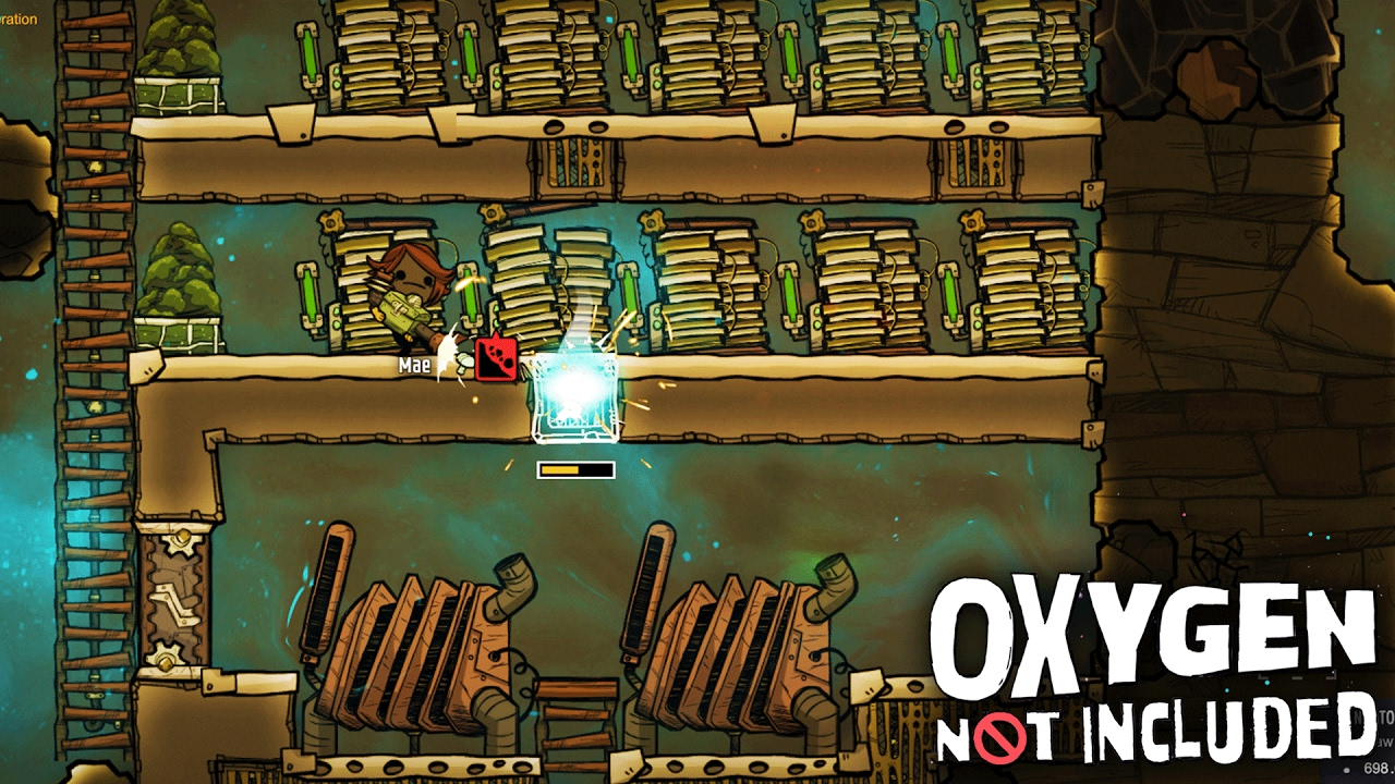 Oxygen Not Included UNLIMITED POWER! - Oxygen Not Included Gameplay How To  Get Power Ep  6