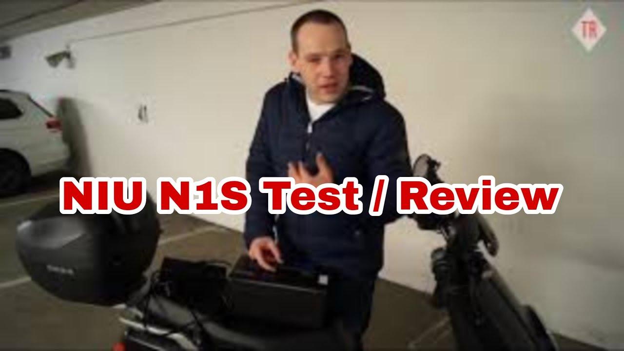 niu n1s n series test review dauertest e roller elektro. Black Bedroom Furniture Sets. Home Design Ideas