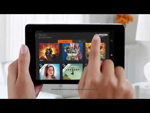 Amazon Fire HD Tablet Commercial 2017