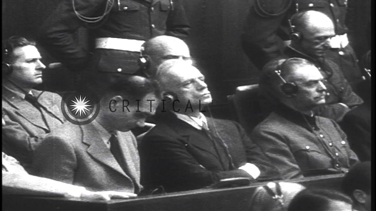 nuremberg trial nazi germany