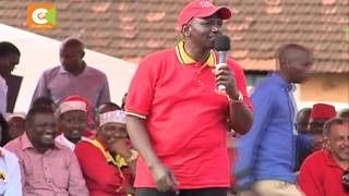DP Ruto challenges Raila, Musyoka's development records