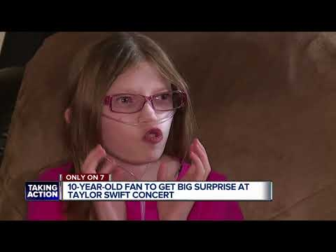 Metro Detroit girl on hospice to meet Taylor Swift