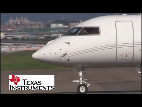 Texas Instruments' jet and it's friendly pilot