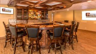 Basement Remodel with Amazing Custom Bar | KLM Builders