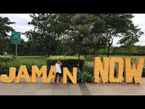 Tamasya Di Taman Bintaro XChange Mall | Hobby Keluarga Zara Cute
