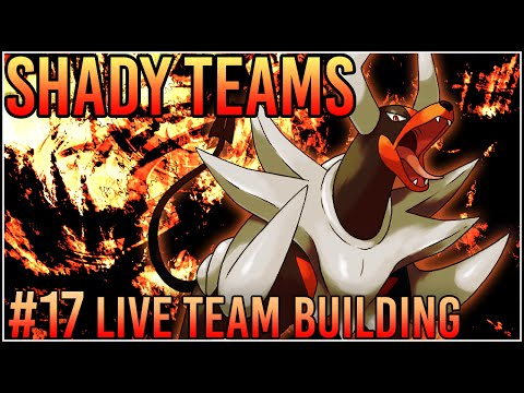"Shady Teams - Pokemon Omega Ruby/Alpha Sapphire [ORAS] Live Team Building #17 ""Revisiting Hades!"""