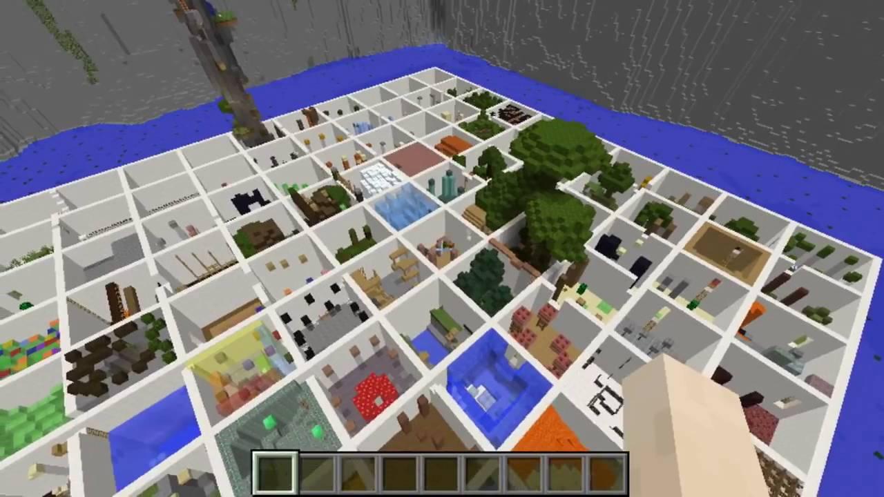 minecraft parkour paradise 100 rooms xbox 360 ps3 map. Black Bedroom Furniture Sets. Home Design Ideas