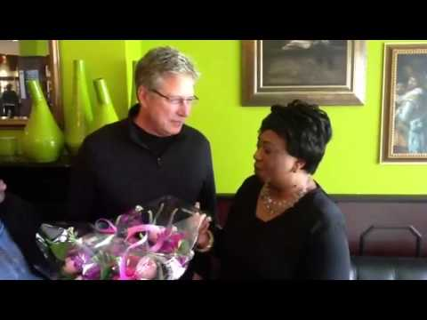 Apostle Helen Dorkenoo interviews Don Moen