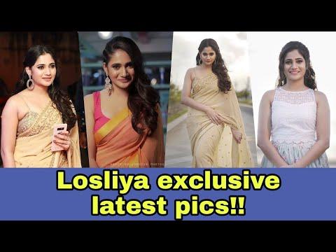 Losliya latest photos   Bigg Boss Tamil   Cute actress    Kaviliya   Kavin   Vijay TV  