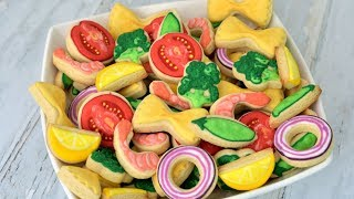 SHRIMP PASTA SALAD made FROM COOKIES by HANIELA