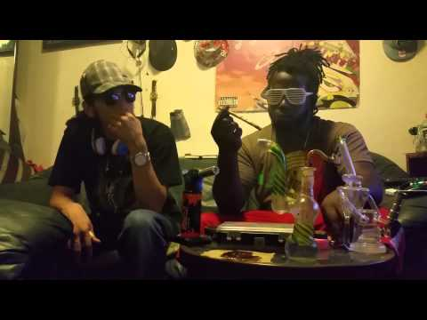 SMOKE SESSION W/3 STRAIN 12 INCH TWAXED JOINT/AND DABS OF SOME SLH(GANJA TALK#3)