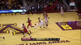 Lynch Block Leads to Coffey Dunk vs. Ohio State
