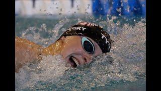 Olympic Winner Katie Ledecky vs Australia's Kiah Melverton   Women's 400m Free A Final