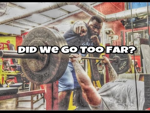 """Bench Press Fail 