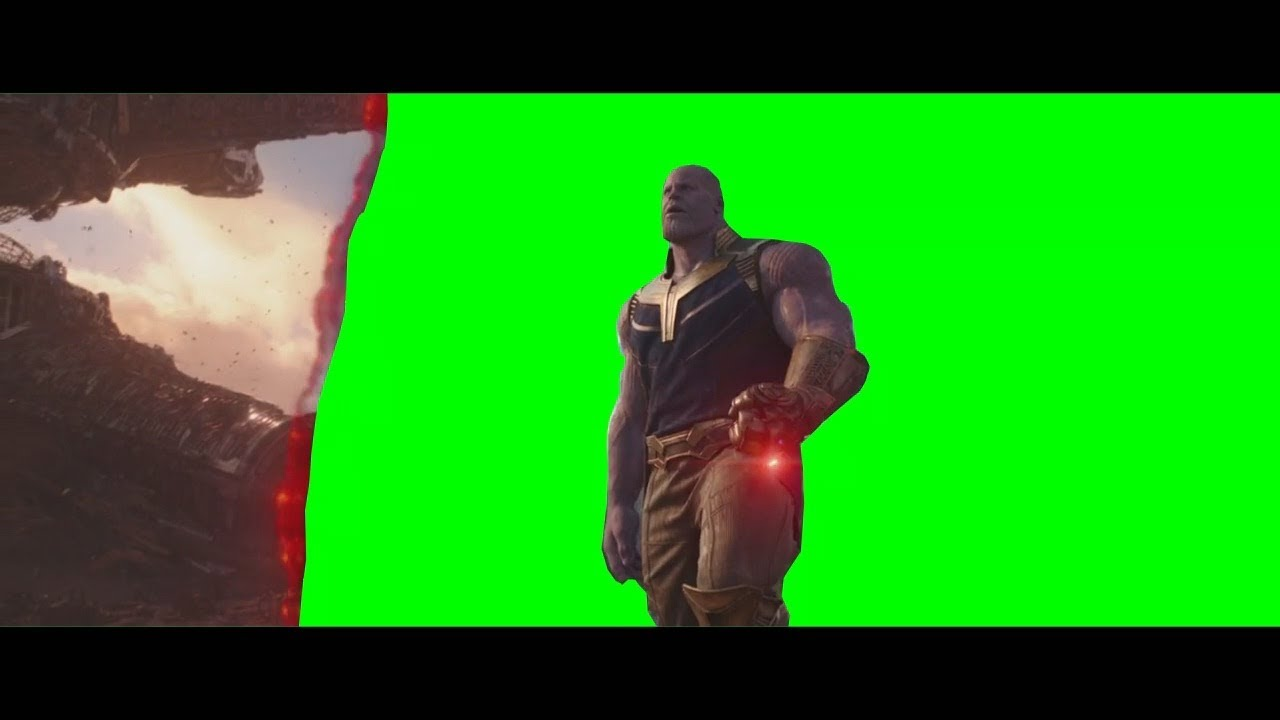 Thanos Home Green Screen [HD] [60 FPS]