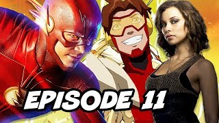 The Flash 4x11 - Future Flash, Classic Episode TOP 10 WTF and Easter Eggs