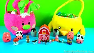 Lodra me Kafshe. Opening Easter Toy Surprises. Discovering Farmer's Toy Animals.Trolls Toy Surprises