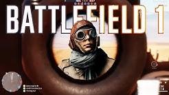 Battlefield 1 Beta - Random Moments #1 (Horse Madness, Funny Glitches & Bugs)