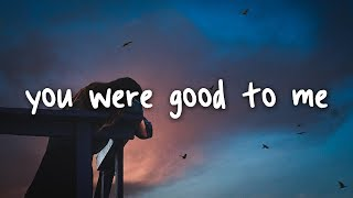 Download jeremy zucker & chelsea cutler - you were good to me // lyrics Mp3 and Videos