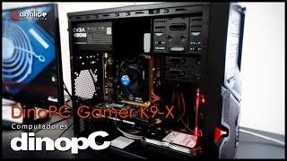 Teste Computador baixo custo DinoPC K9 X Gamer Intel Core I3 4150 3 40GHZ