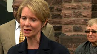 Cynthia Nixon brings campaign for governor to Western New York--6pm