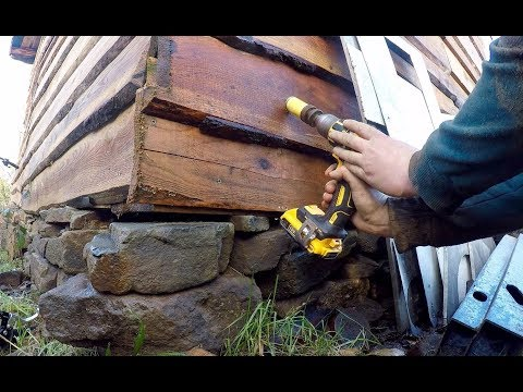 DIY Micro Hydro Electric part 11 Moving power out to the workshop
