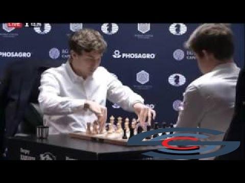 Tie Break # 03 | Sergey Karjakin vs Magnus Carlsen | World Chess Championship 2016 mag