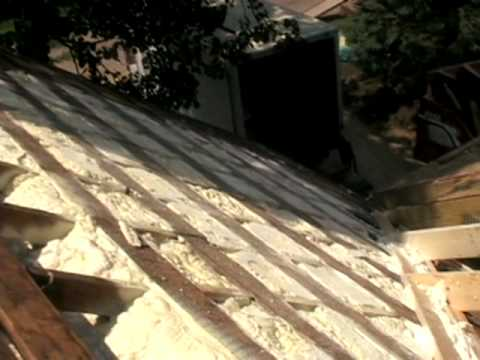 Insulation Works Insulating A Roof From The Outside In