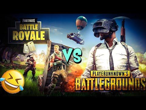PUBG VS FORTNITE ! (battle royal battle #1)