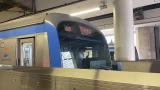 相鉄10000系10708F急行海老名行き、横浜駅発車。