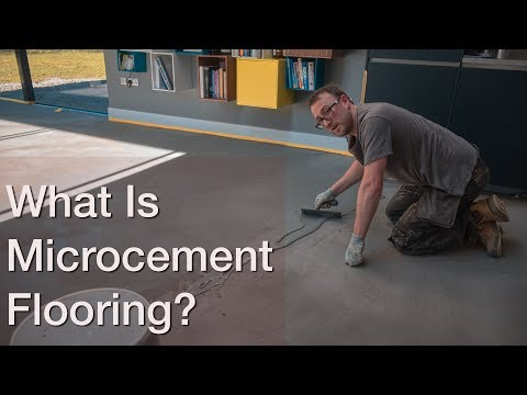 What Is Microcement?  By CARRcrete