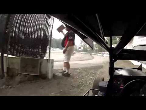 Brodys First Time in 600r Deming Speedway Hot Laps