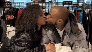 Davido And Chioma Spotted Sharing A Passionate Kiss In London !!!