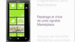 HTC 7 Surround - Téléchargement d'applications dans Marketplace