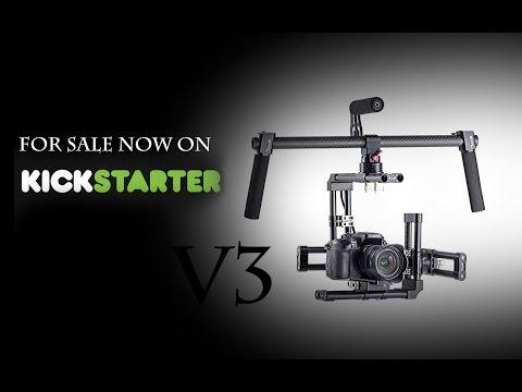 Ghost Gimbals V3 Kickstarter, Ghost Grip, Pro II Camera Stabilizer