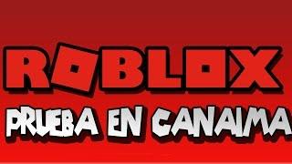 Test De Roblox à Canaima