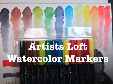 Artists Loft Watercolor Markers